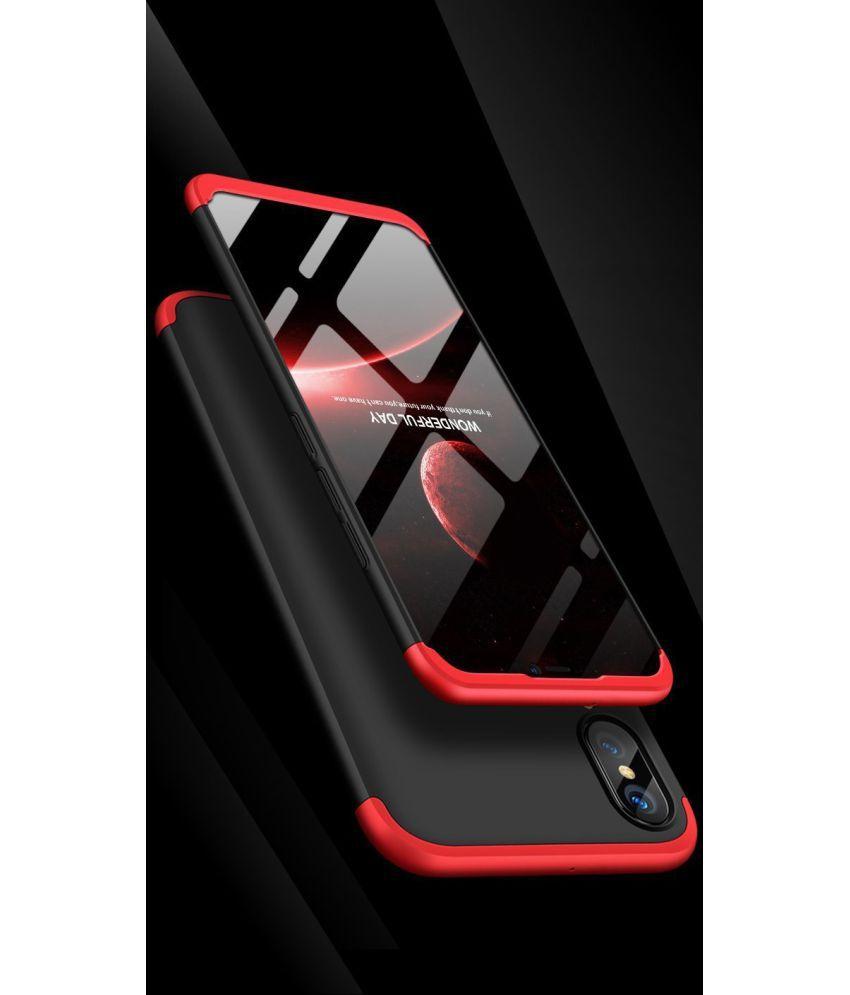 Huawei P20 Lite Anti Gravity Cover BM - Black - Plain Back