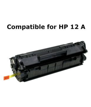 Print Star 12A Q2612A Black Toner Cartridge Single