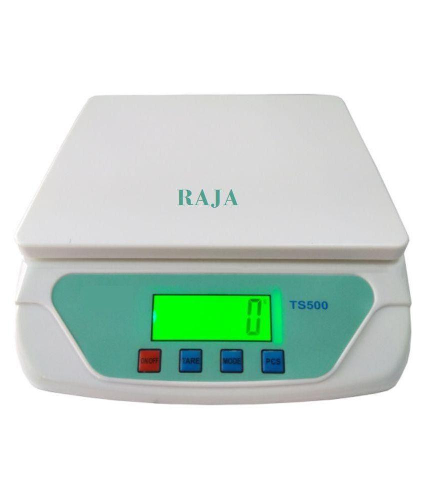 Raja Digital Kitchen Weighing Scales Weighing Capacity - 10 Kg: Buy ...