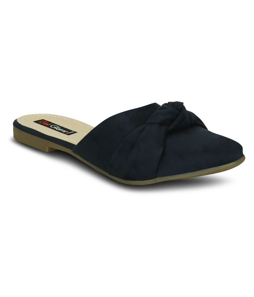 Get Glamr Navy Casual Shoes
