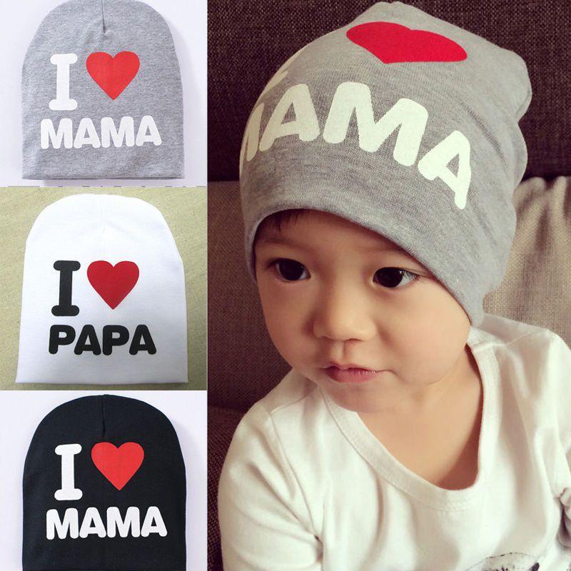 Guru Black PAPA woolen hats
