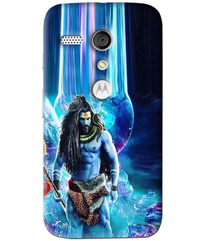 Moto G 3D Back Covers By Snooky