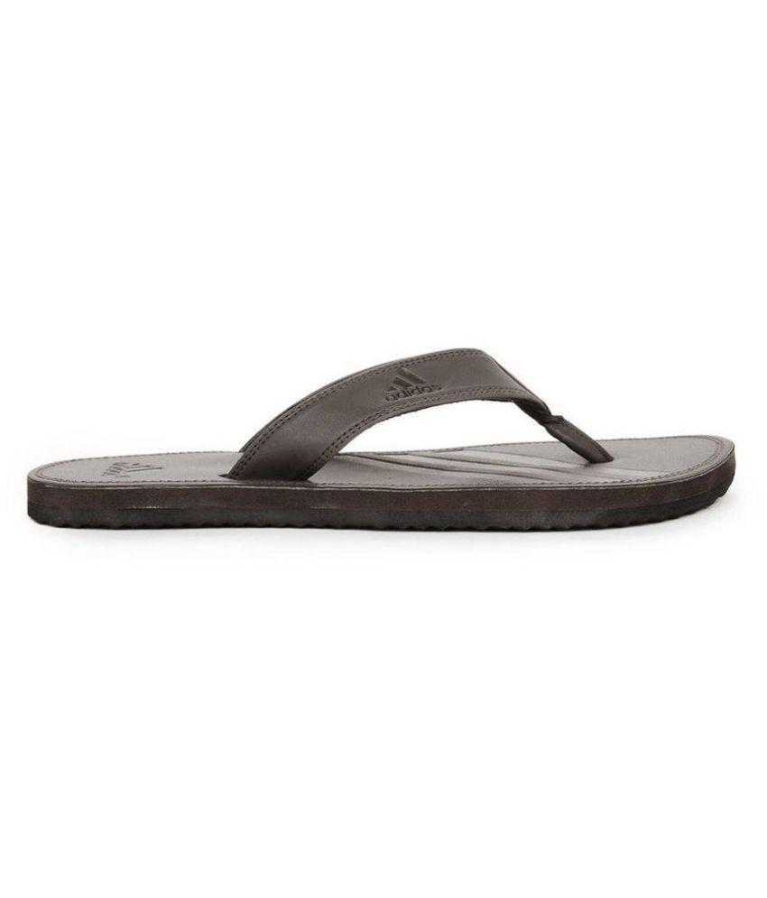 5777f2edc7a949 Adidas Q17265 Brown Thong Flip Flop Adidas Q17265 Brown Thong Flip Flop ...