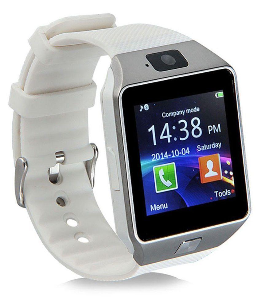 Bastex Smartwatch Suited Huawei Y7 Prime Dz09 Golden Smart Watches