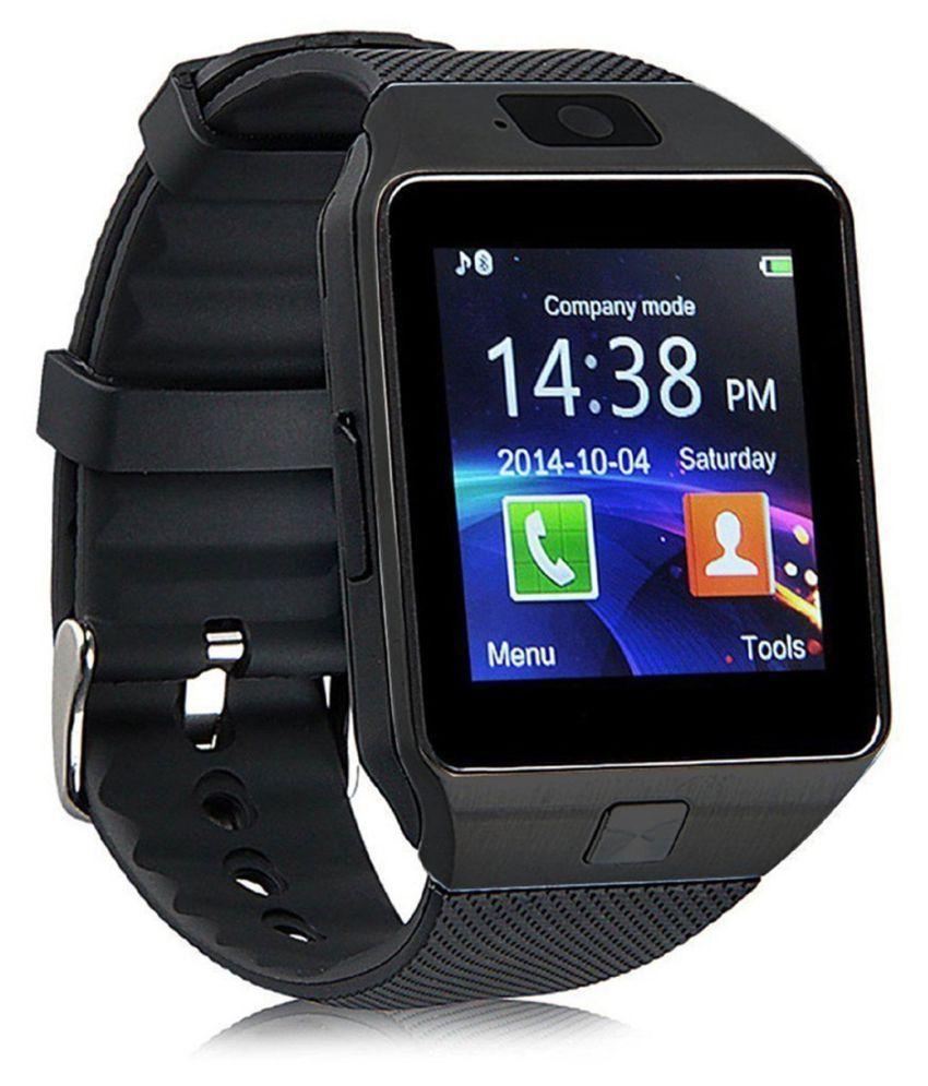 Bastex Smartwatch Suited Intex Aqua 4G+ Dz09 Golden Smart Watches