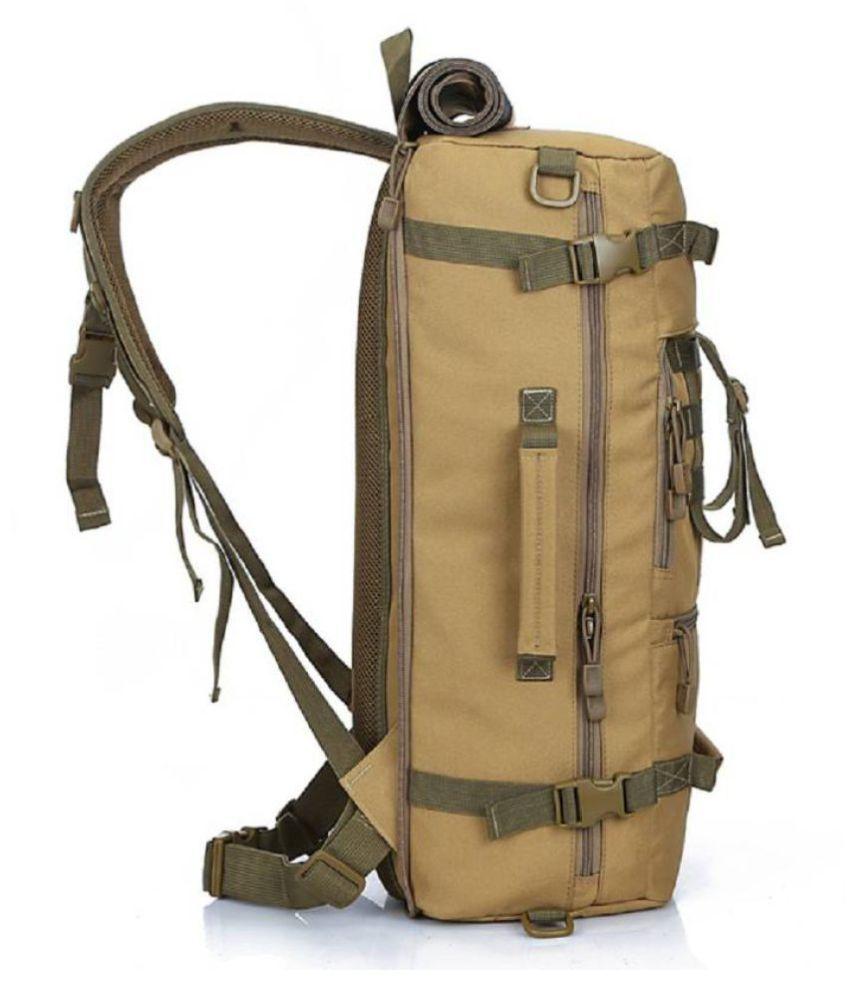 ... Fuerdanni 40-50 litre Stylish Tactical Backpack Camping Travel Hiking  Bag ... 72bd27642acac