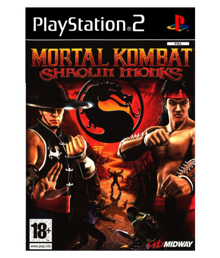 buy tgs mortal kombat shaolin monks ps2 ( ps2 ) online at best price