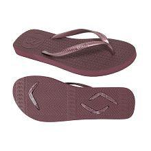 Boomerangz Slim Fit (Women's) Burgundy Brown Thong Flip Flop