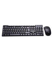 Zebronics Judwaa Black USB Wired Keyboard Mouse Combo