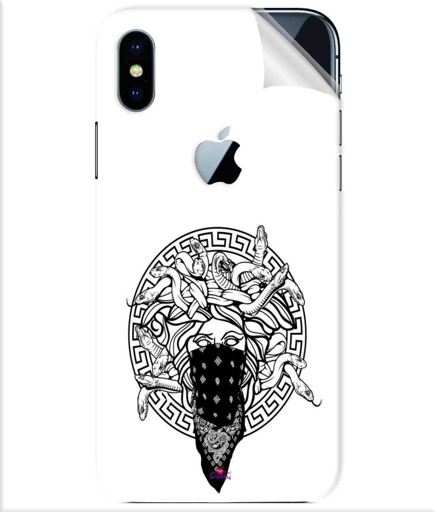 Apple iPhone X Designer Sticker By snooky