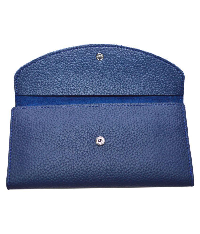 Knott Blue Wallet
