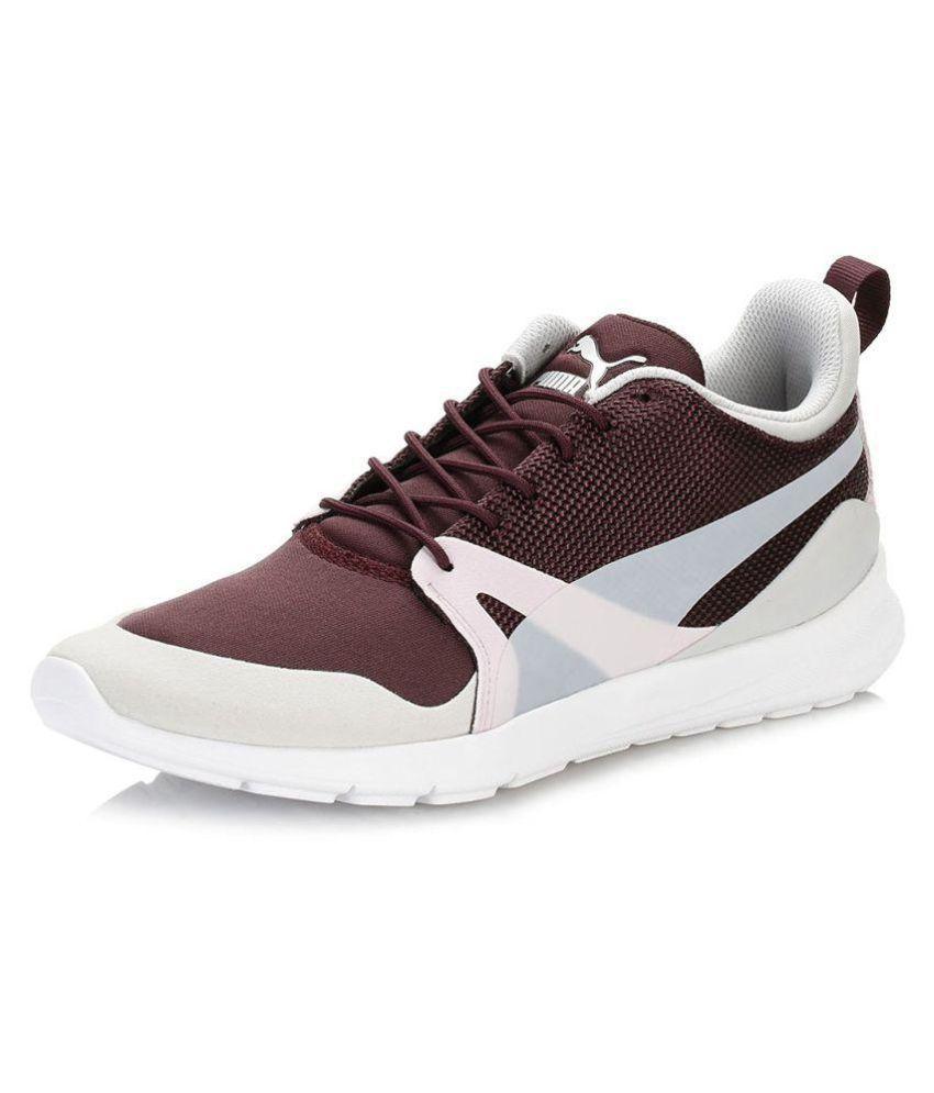 Puma Maroon Casual Shoes