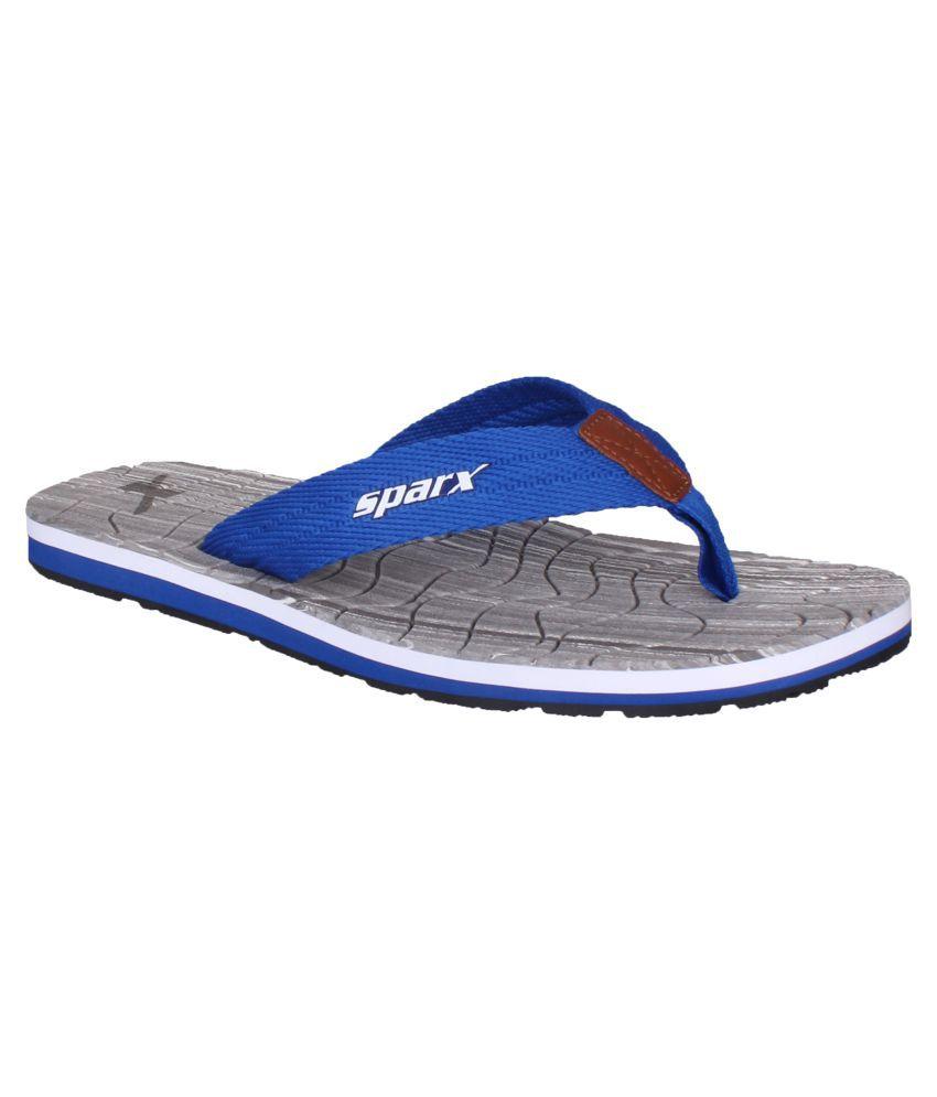 6813bd17ac58 Sparx Men SFG-2083 Blue Thong Flip Flop Price in India- Buy Sparx Men  SFG-2083 Blue Thong Flip Flop Online at Snapdeal