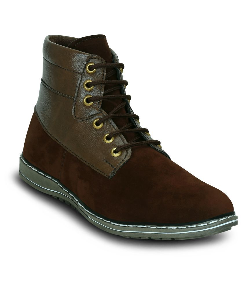 Get Glamr Brown Casual Boot