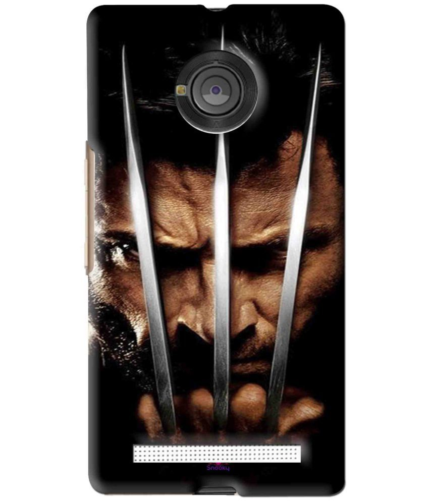 Micromax Yu Yuphoria 3D Back Covers By Snooky
