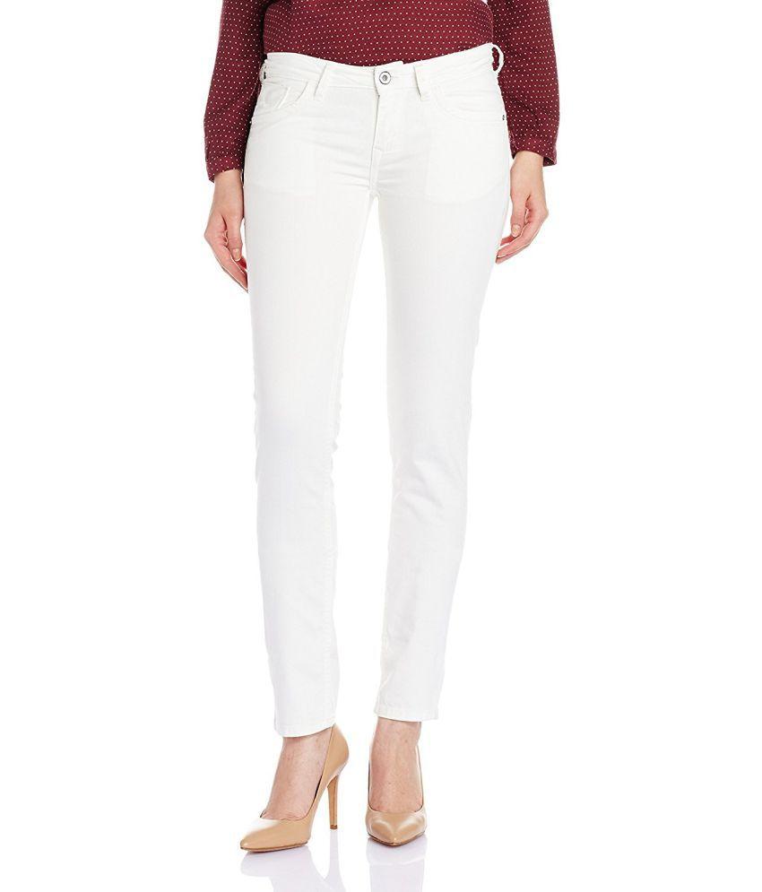 NORTH ELEVEN Denim Jeans - White