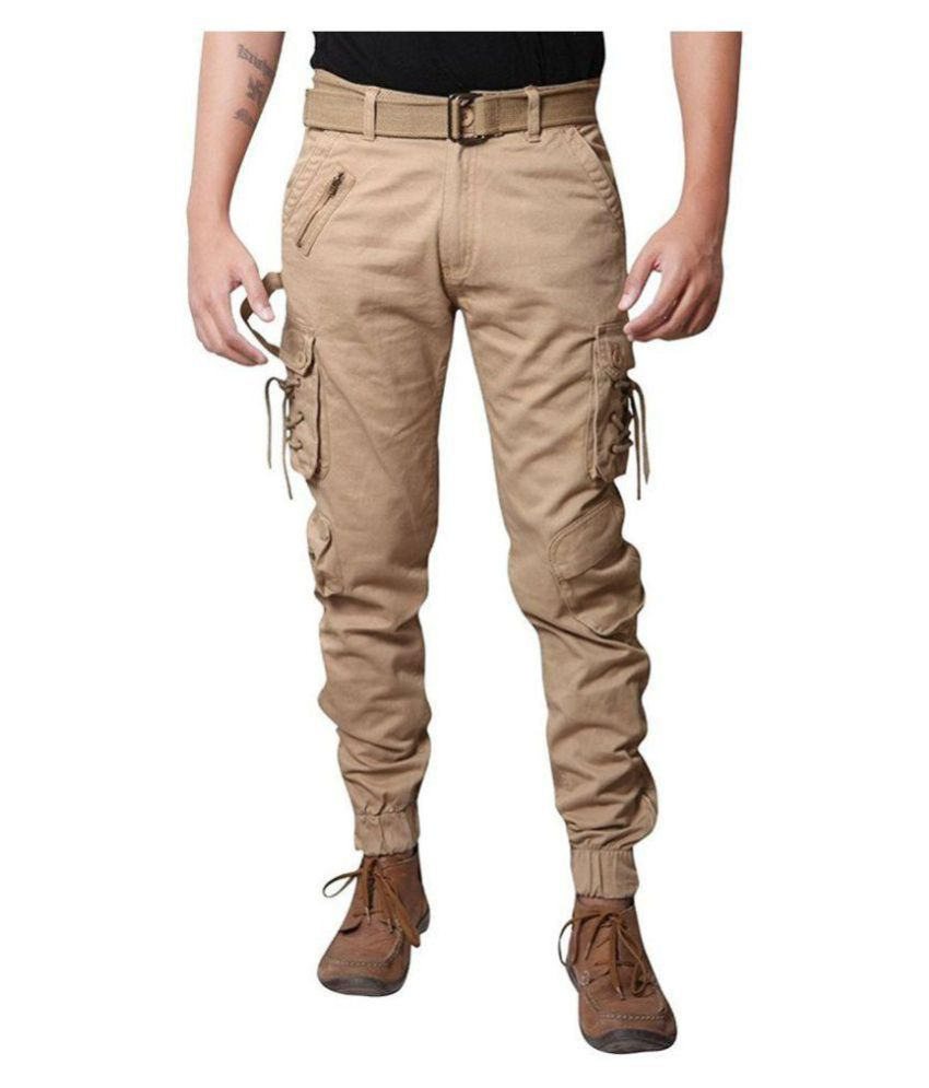 0872f2b30 DORI STYLE CARGO JOGGER PANTS FOR MEN - Buy DORI STYLE CARGO JOGGER PANTS  FOR MEN Online at Low Price in India - Snapdeal
