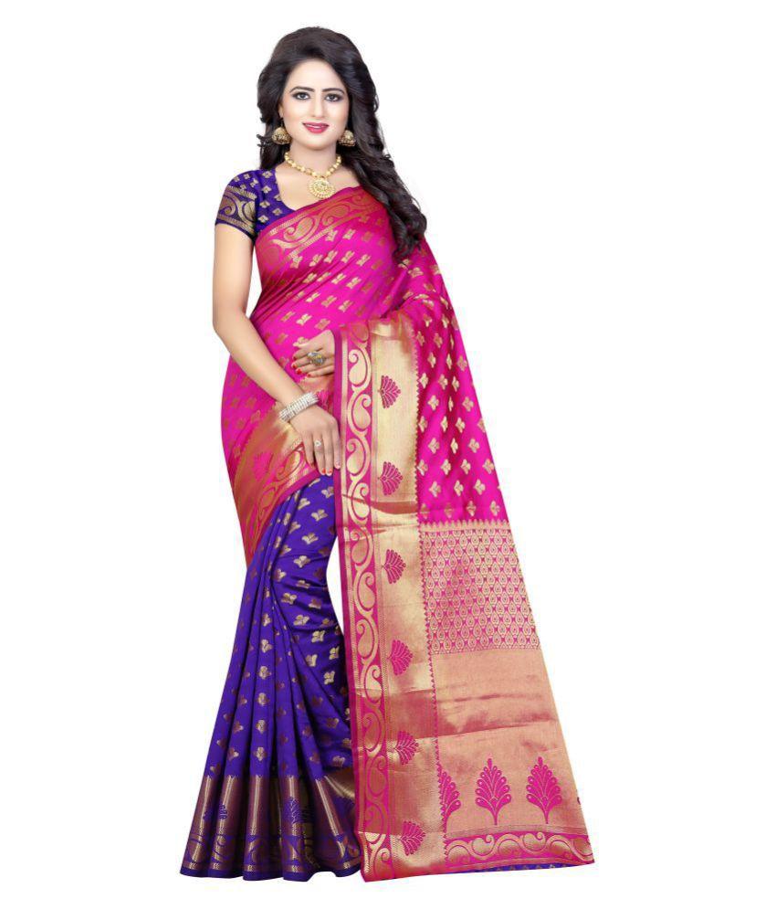 Laxmipati Fashion Multicoloured Banarasi Silk Saree