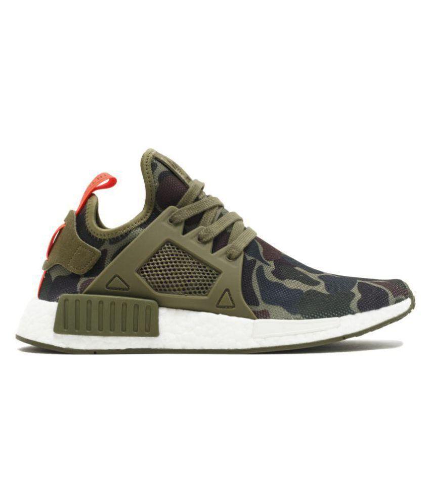 buy popular 79a4f 7257f Adidas N.M.D XR1 Military Green Running Shoes