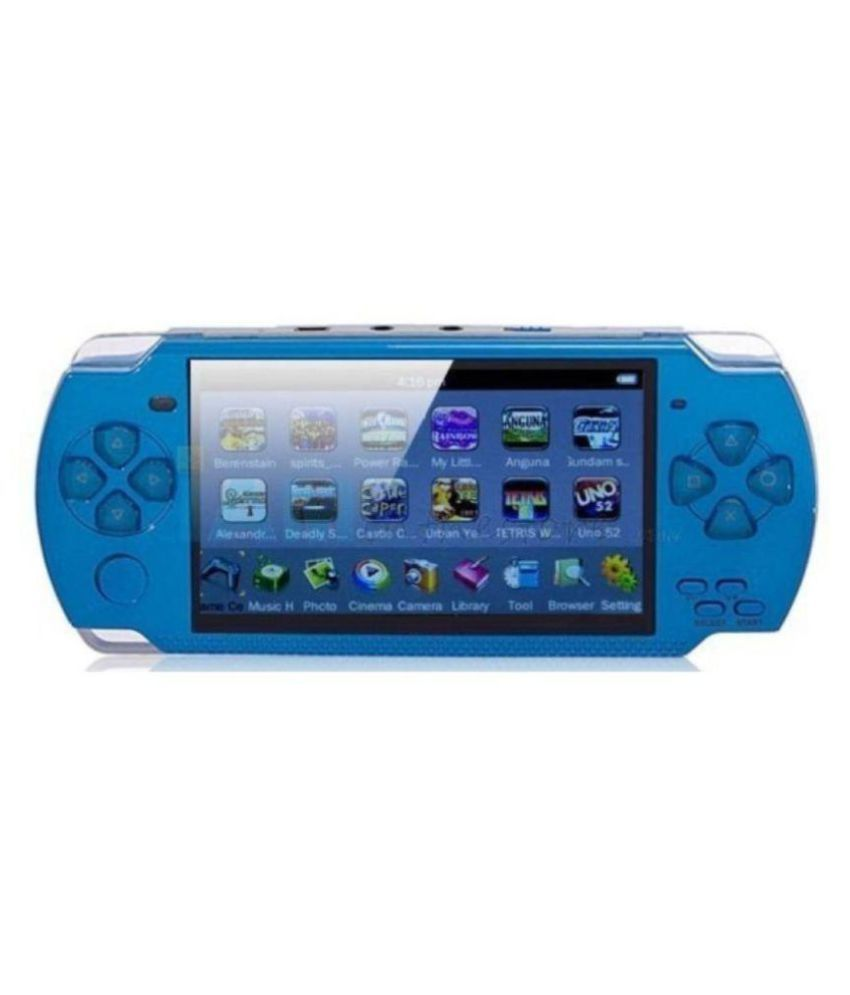 Digitech AStar 3D Games PSP 4GB Handheld Console ( Blue ) With Camera