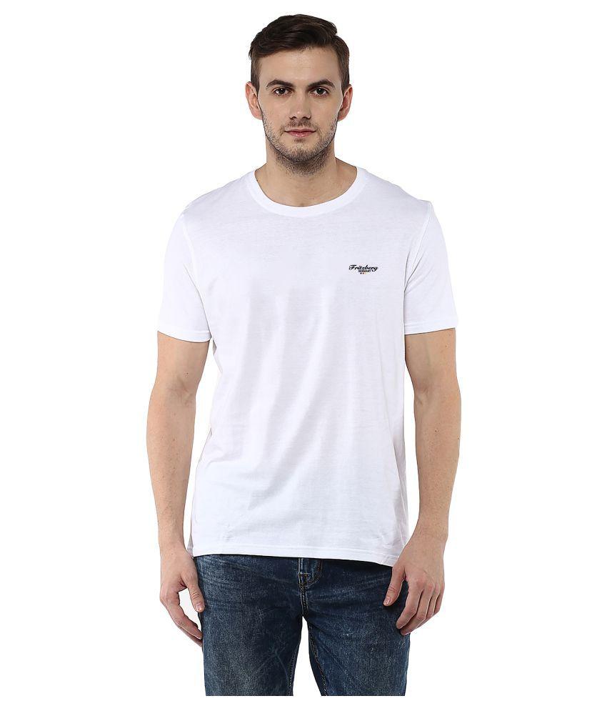 Fritzberg White Round T-Shirt