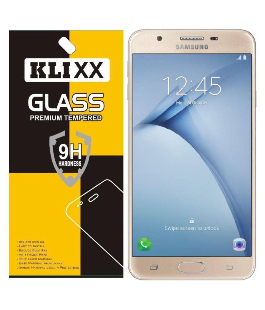 Samsung Galaxy On Nxt Tempered Glass Screen Guard By Klixx