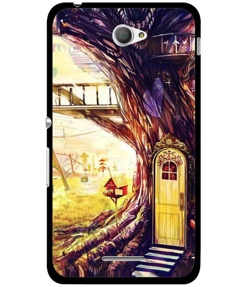 Sony Xperia E4 Printed Cover By Snooky
