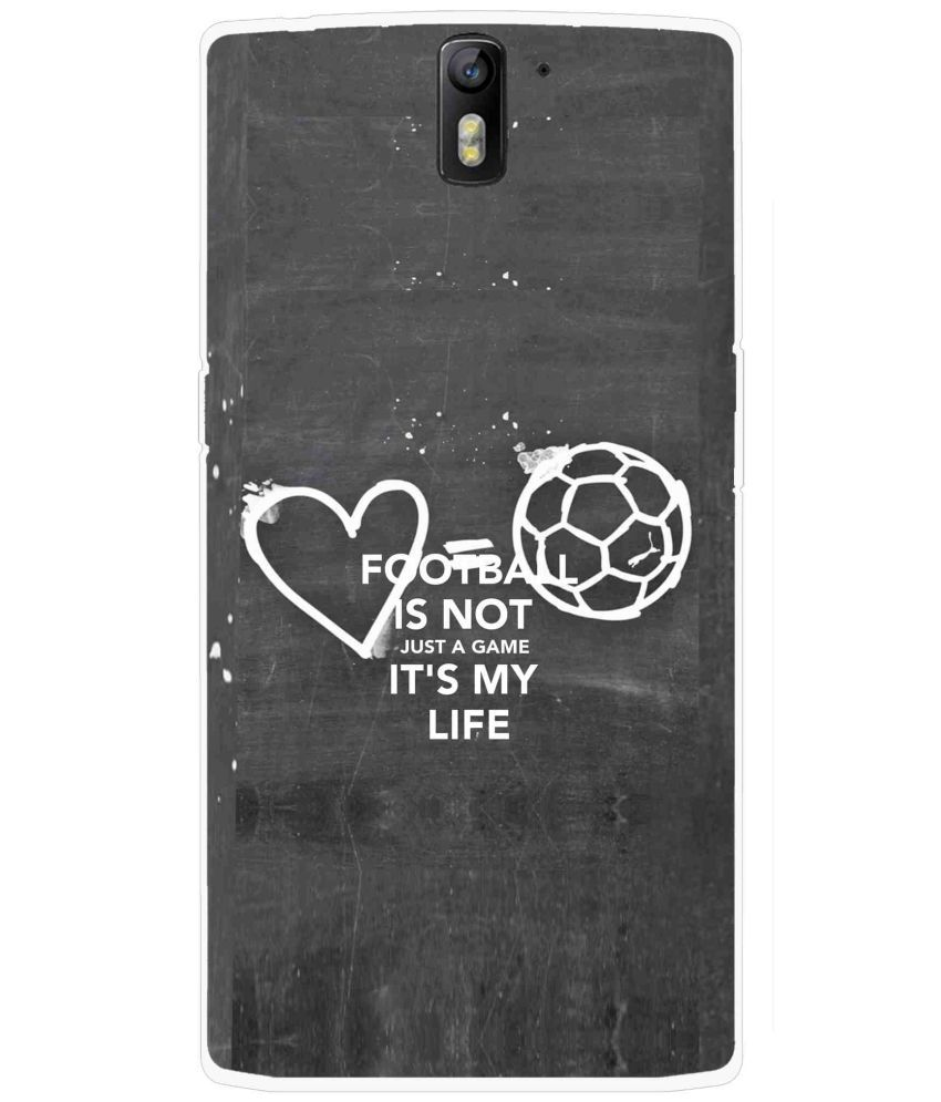 OnePlus One Printed Cover By Snooky
