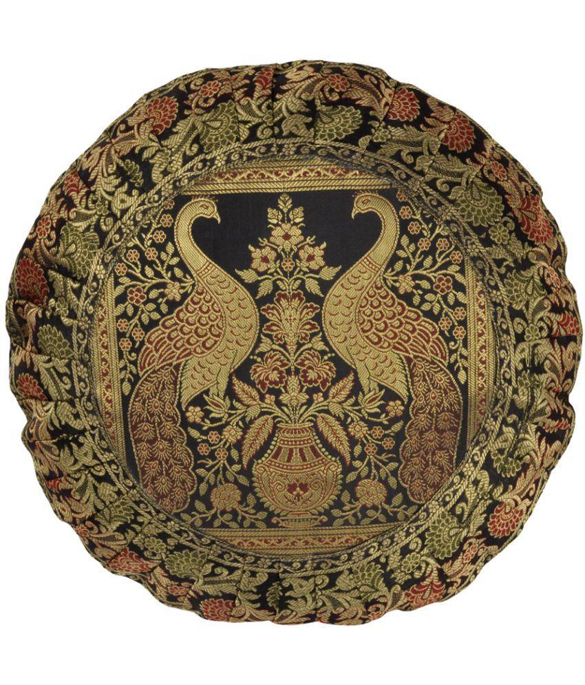 Lal Haveli Single Silk Cushion Covers 40X40 cm (16X16)