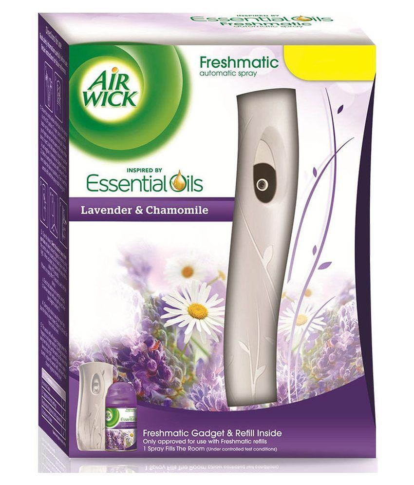 Airwick Fresh Matic Complete Kit Lavender Chamomile 250 Ml Buy