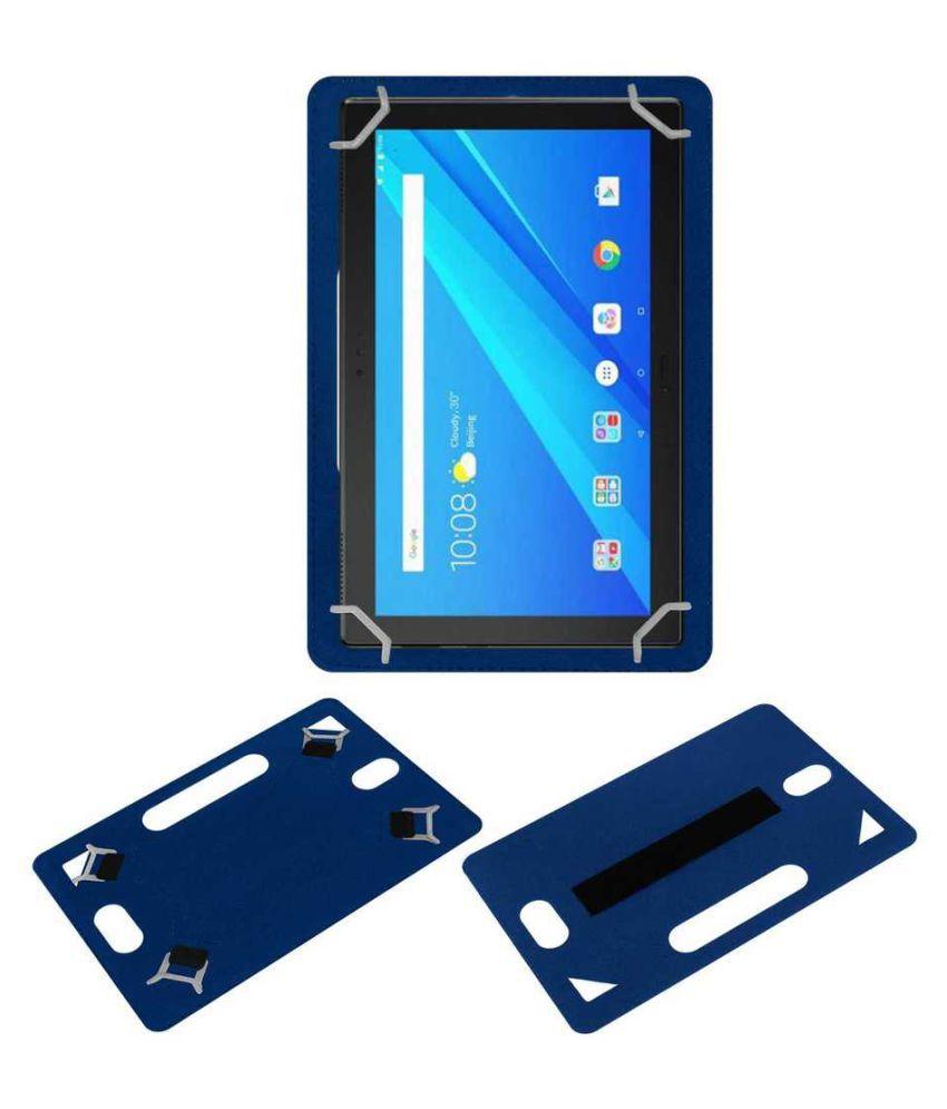 best website 0f937 1ad28 Lenovo Tab 4 10 Plus Plain Back Cover By ACM Blue