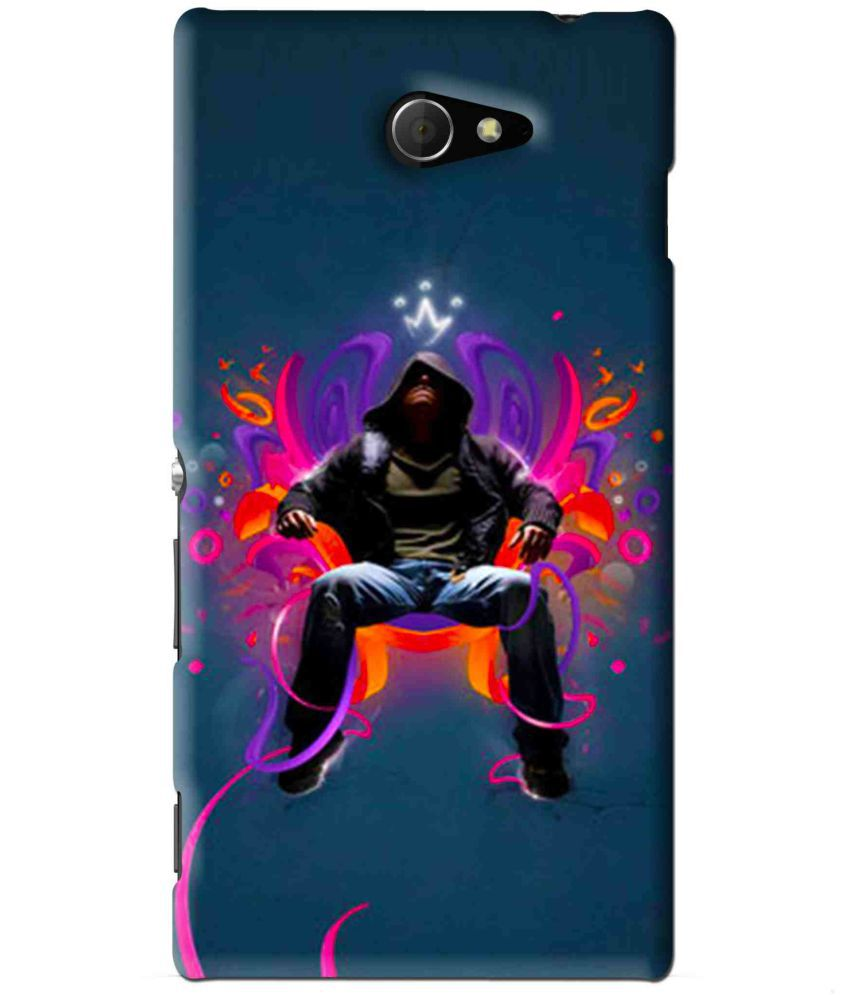 Sony Xperia M2 Printed Cover By Snooky