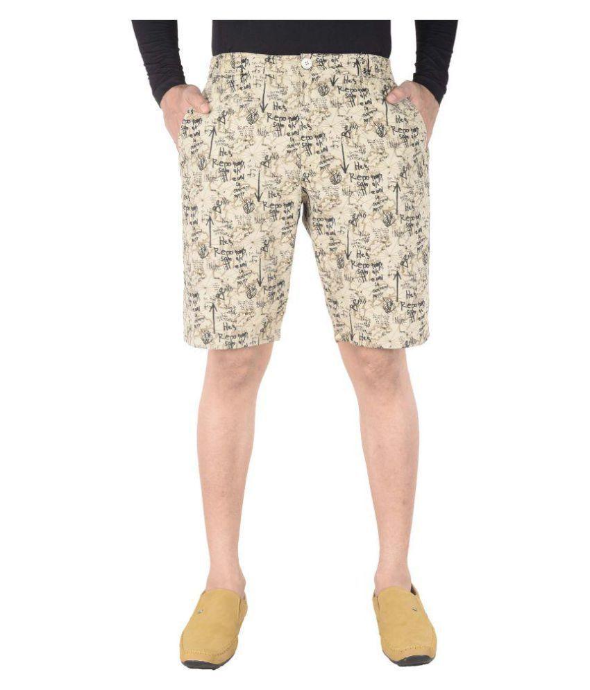 Night King Beige Shorts