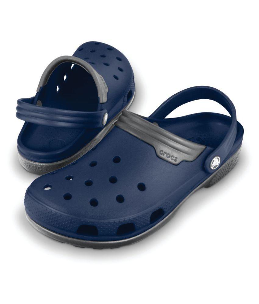 45dc20160 Crocs 11001-46U Blue Floater Sandals - Buy Crocs 11001-46U Blue ...