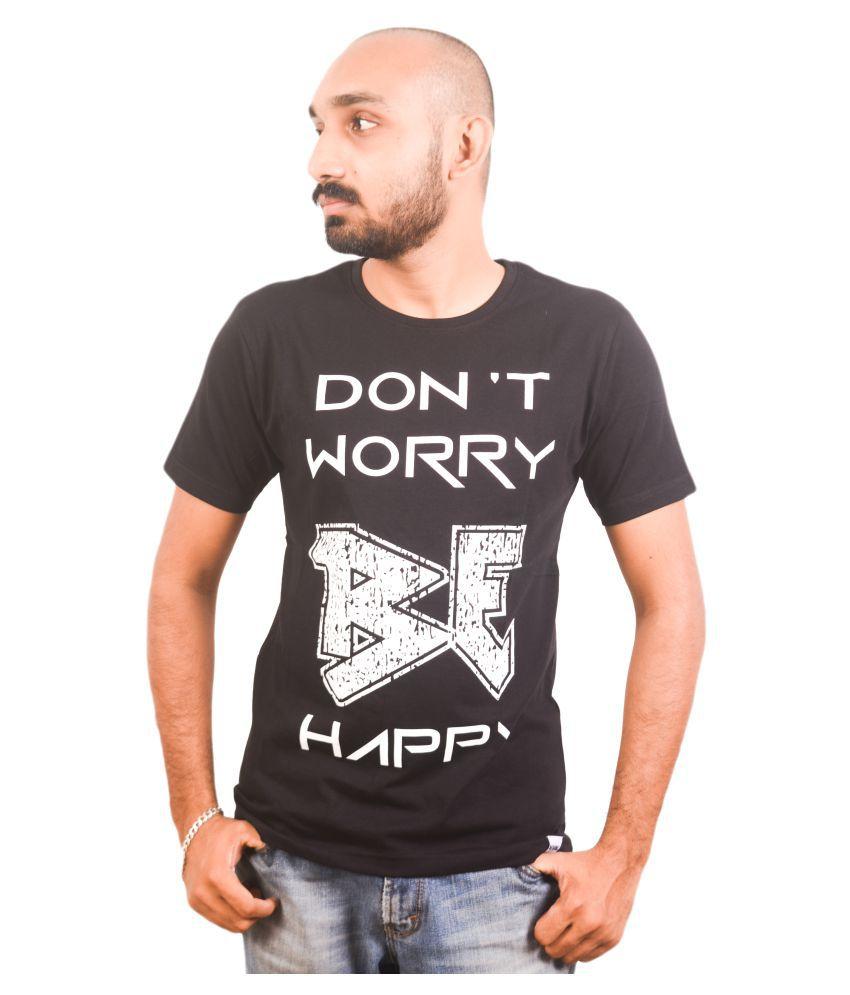 Macbel Black Round T-Shirt