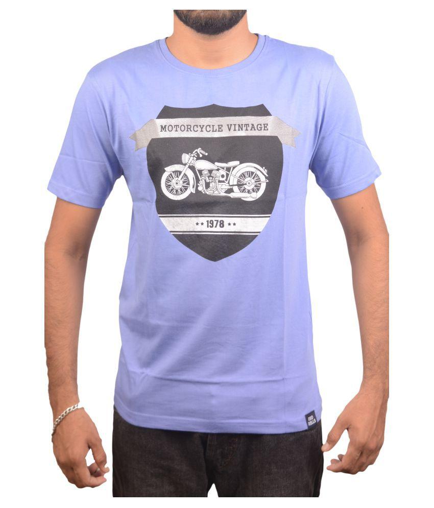 Rod Rolls Purple Round T-Shirt