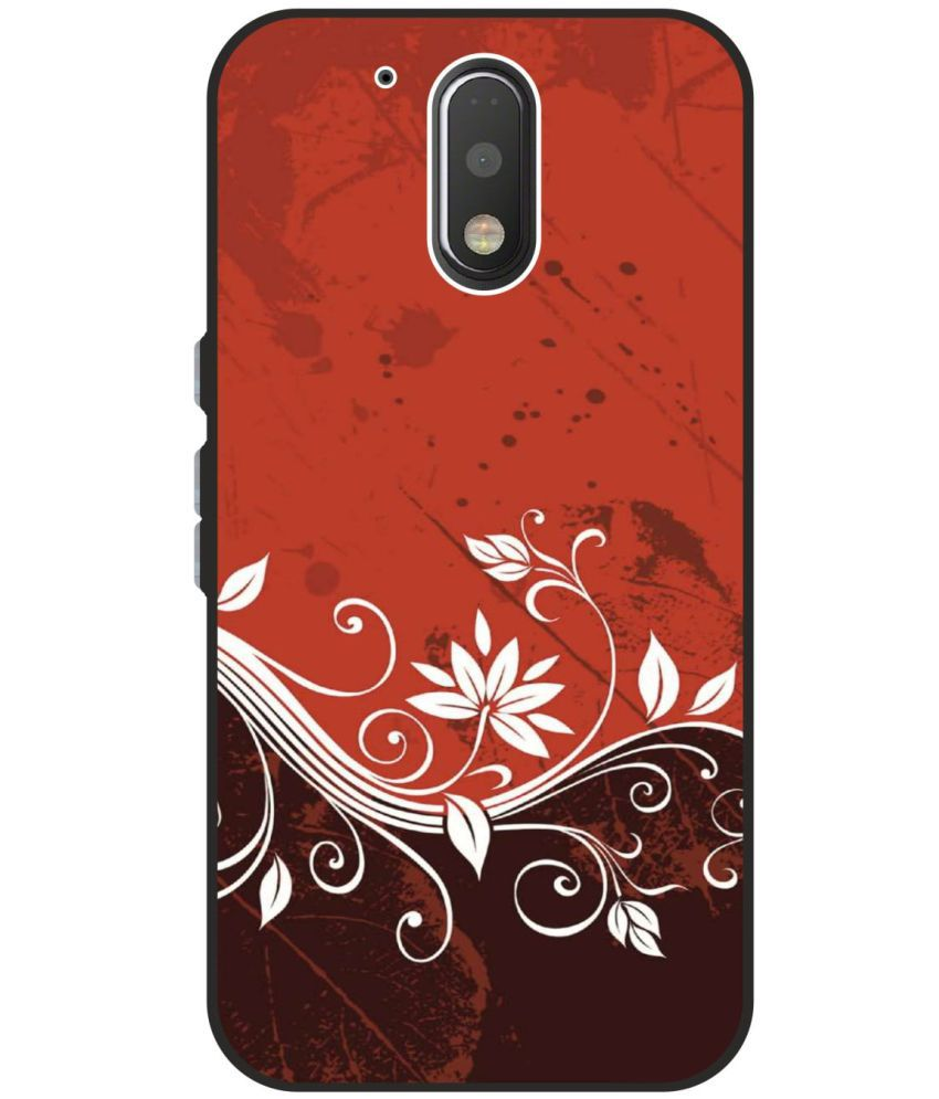 Moto G4 Plus Printed Cover By Go Hooked