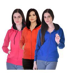 Christy's Collection Cotton Blend Hooded Jackets
