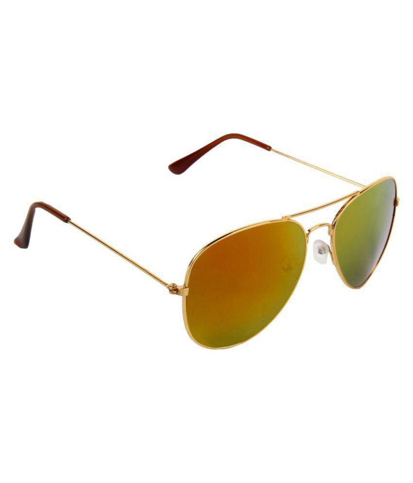 Abner Multicolor Aviator Sunglasses ( ASUN-72 )