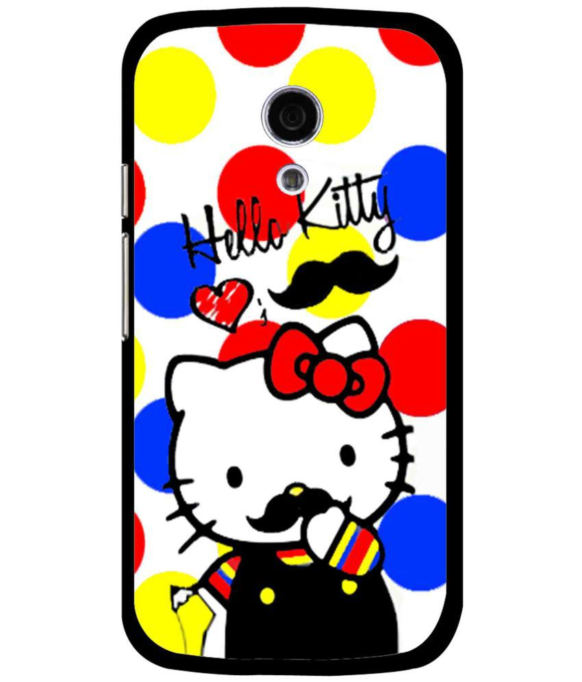 Moto G2 Printed Cover By Snooky