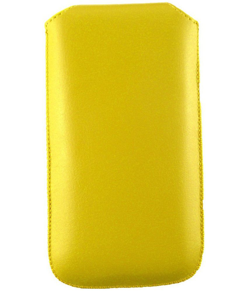 sports shoes 37149 2741d Nokia Lumia 625 Flip Cover by Emartbuy - Yellow