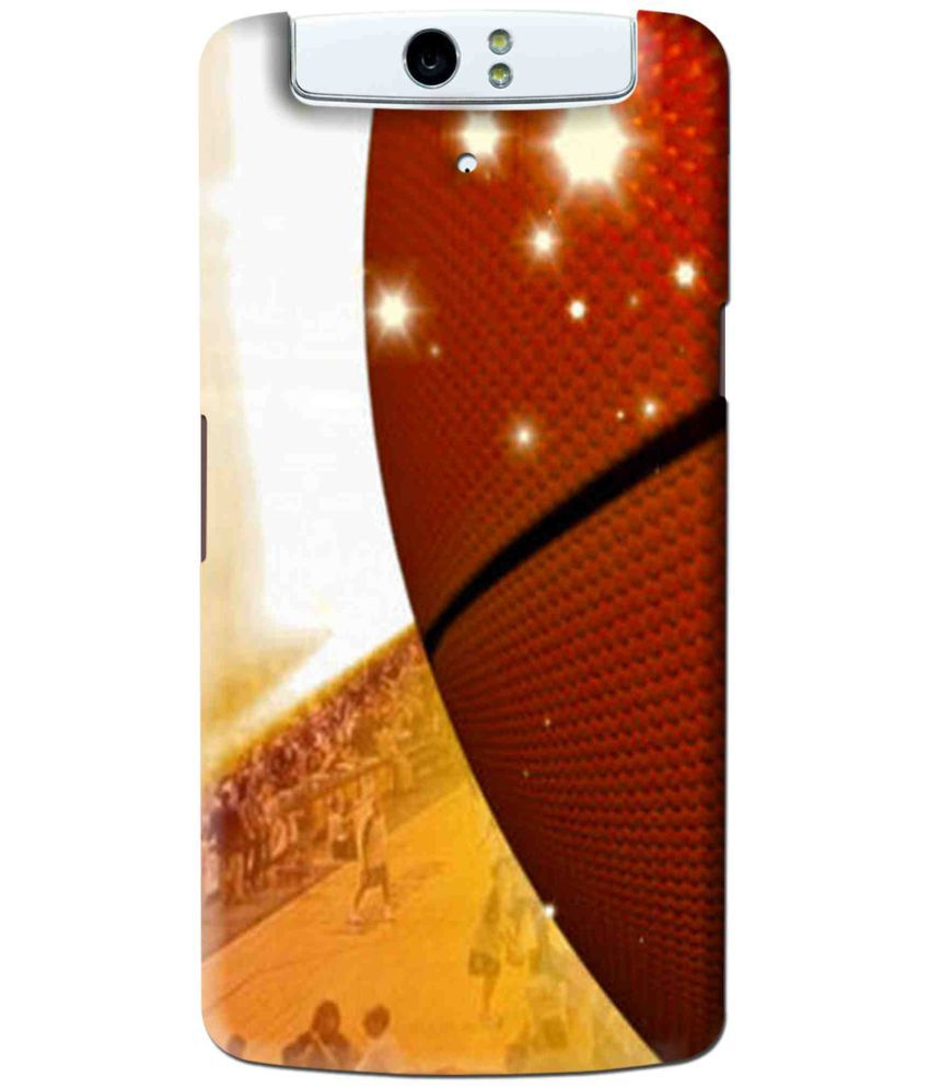 Oppo N1 Printed Cover By Snooky
