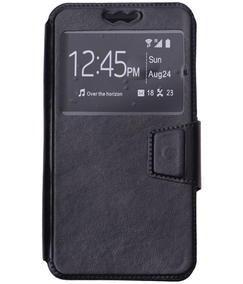 Intex Cloud Swing Flip Cover by Shopme - Black