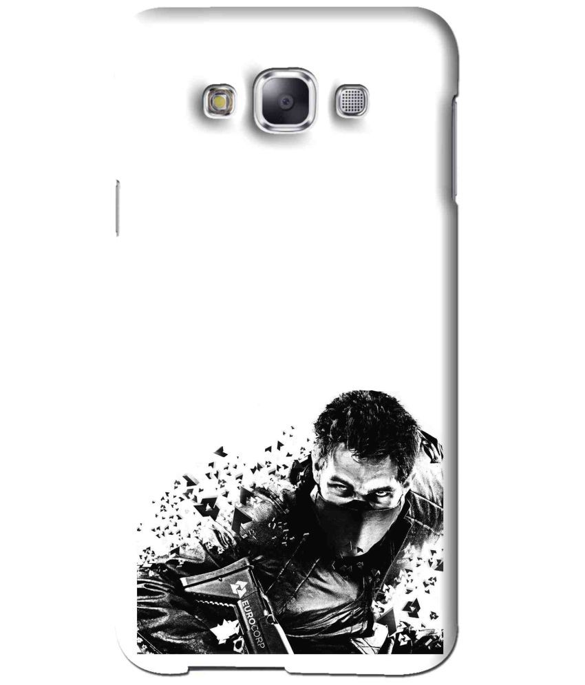 Samsung Galaxy A3 Printed Cover By Snooky