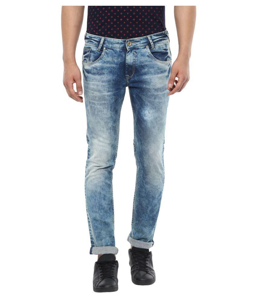 Mufti Khaki Skinny Jeans