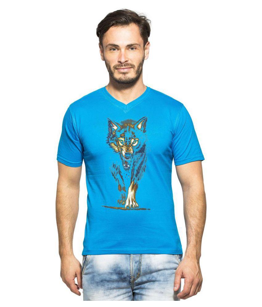 clifton Turquoise V-Neck T-Shirt