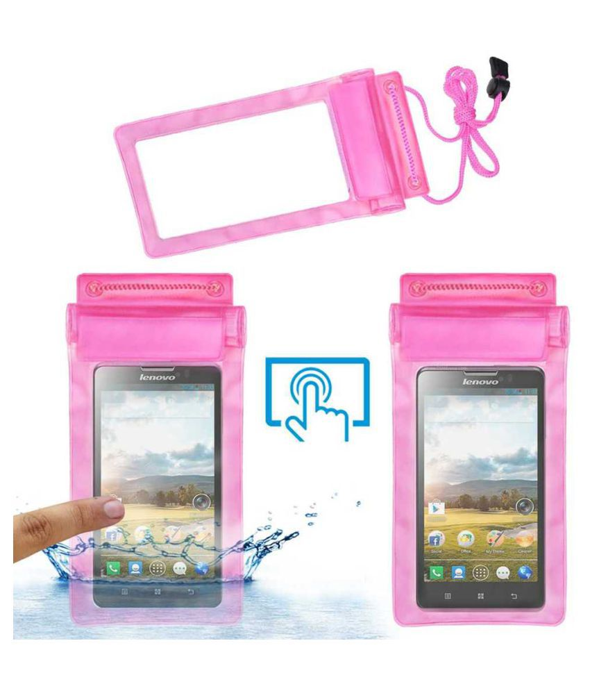 Lenovo P780 Holster Cover by ACM - Pink