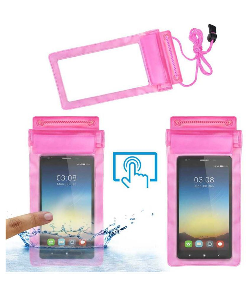 Videocon Thunder Plus One Holster Cover by ACM - Pink