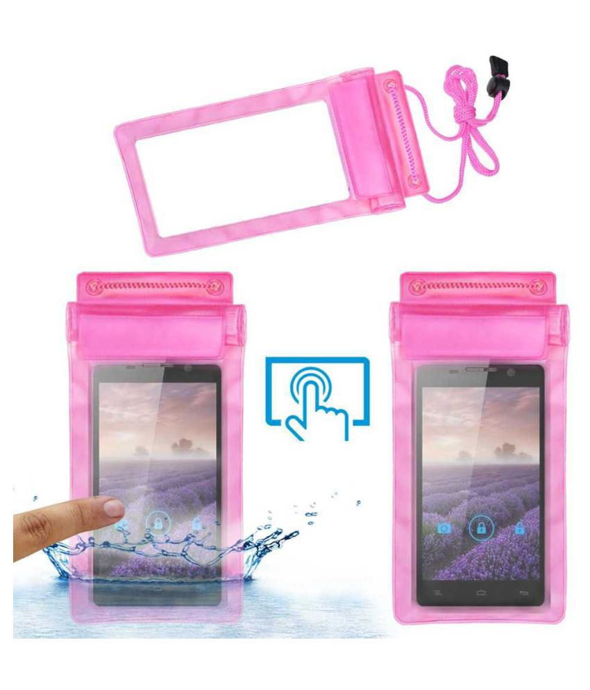 Gionee CTRL V4 Holster Cover by ACM - Pink