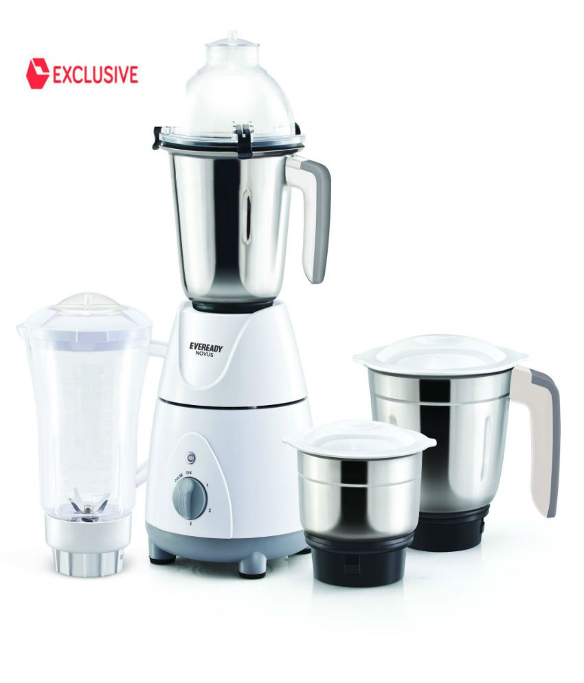 Eveready NOVUS 750 Watt 4 Jar Mixer Grinder